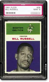 A 1960's Russell jersey sold for $63,393.