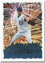 Kerry Wood was the strikeout leader with 266.
