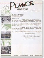 1936 typewritten letter signed