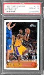 Kobe Bryant PSA-graded cards continue to light up the eBay basketball card market, and...