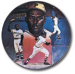Roberto Clemente is one of many stars to be found on Lewis's Sports Impressions series of limited edition plates.
