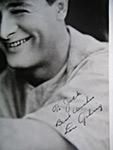 Lou Gehrig Secretarial Signature