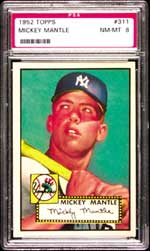 Bob has been trying to upgrade his 1952 Topps Mantle for some time now