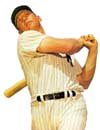 Comedian Billy Crystal, high bidder on <br>Mickey Mantle's baseball glove in Sotheby's Halper collection auction, <br>paid a record $239,000 for the legend's glove.