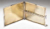 Babe Ruth Sterling Silver Cigarette Case