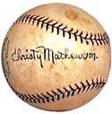 Christy ''Big Six'' Mathewson is third on the career shutout list with 79.