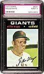This 1971 Topps ##600 Willie Mays,<br>a difficult card in PSA 9, realized $5,052<br>in Goodwin's April auction.