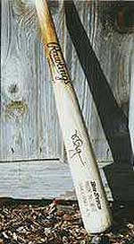 Mark McGwire game-used bat