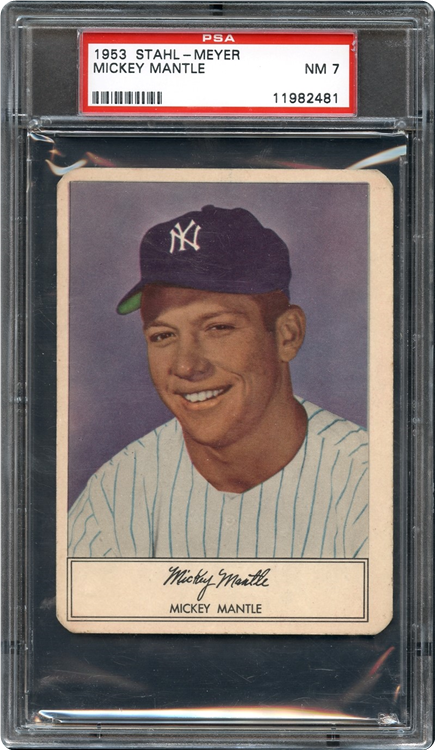 Mile High Card Company Gives Away 1952 Topps Mickey Mantle