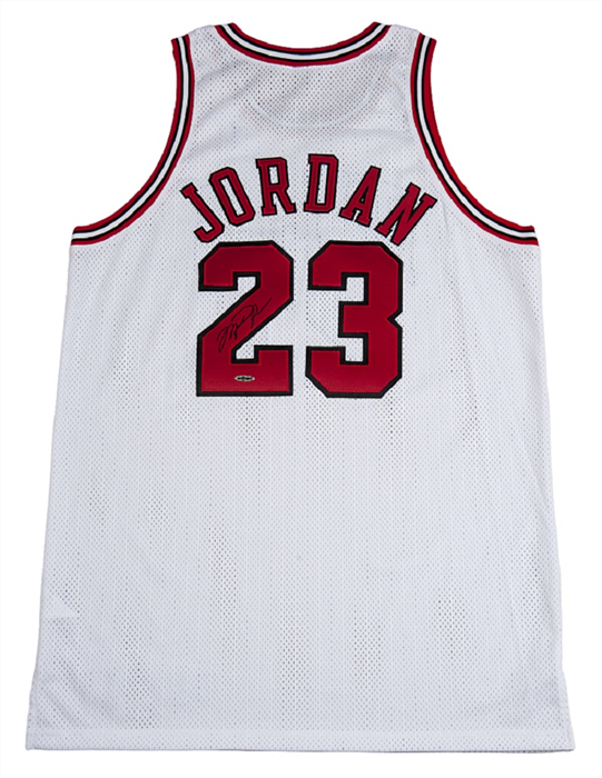 660de4d56c2 The only other photo-matched Jordan jersey from his final Bulls season sold  for over  100