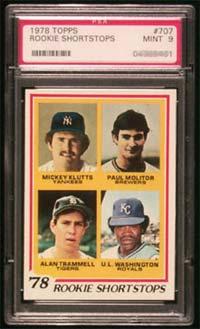 1978 Topps Rookie Shortstops