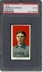 Mordecai ''Three Finger'' Brown posted an ERA of 0.00 during the 1908 Series.