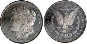 1878-CC MS65 Morgan Dollar.