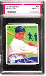 Lou Gehrig was Morrow's favorite player.