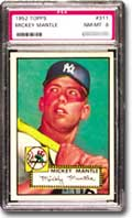 1952 Topps Mickey Mantle NM-MT 8.