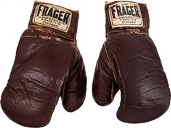 Muhammad Ali's 1964 fight-worn gloves from first title bout against Liston