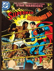 Muhammad Ali Signed Comic Book