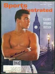 Muhammad Ali Signed Magazine