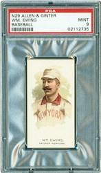 N29 Allen & Ginter Wm. Ewing (Baseball)