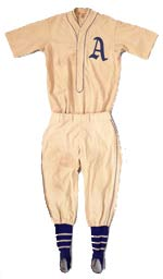 1931 Lefty Grove uniform.