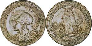 1915-S Panama-Pacific $50 Round
