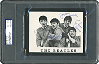 Promo Card Signed by The Beatles