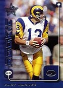 Quarterback Kurt Warner, the 1999 NFL MVP,<br>shrugs off Rams critics, staying focused <br>on winning the playoffs, one game at a time.