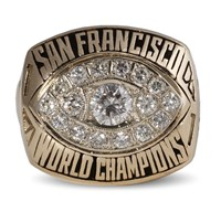 SF 49ers RC Owens Super Bowl Ring