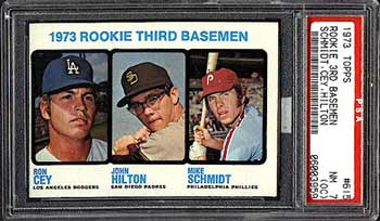 Schmidt's Rookie card