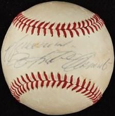 Autographed Roberto Clemente Single Signed Baseball