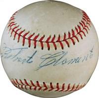 Roberto Clemente Signed Baseball