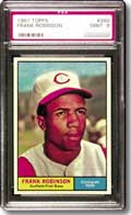 The 1961 Topps Robinson is a very attractive card.