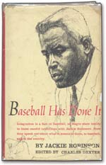 This copy of <i>Baseball Has Done It</i>, inscribed by Robinson to Dr. King, sold for $42,288