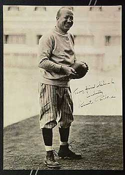 Vintage football legends, like Knute Rockne, seem undervalued