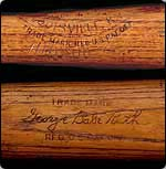 Babe Ruth 'Notch' bat sells for $86,250