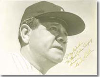 Are there Babe Ruth-caliber players today in terms of collectibility?