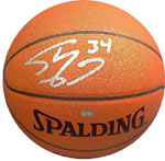 Shaq O'Neal Lakers signature