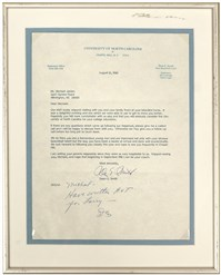 Smith Letter Framed