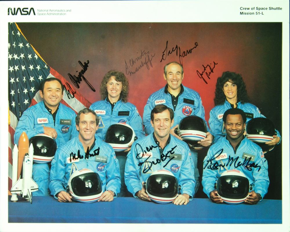 space shuttle challenger crew - photo #3