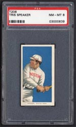 This Speaker is considered his rookie card, but what about other T206 Hall of Famers?