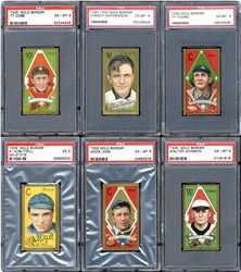 T205 Gold Border cards