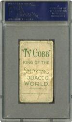 T206 White Border Ty Cobb with 'Ty Cobb' Back PSA PR 1