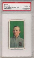 T206 Ty Cobb (Portrait-Green)