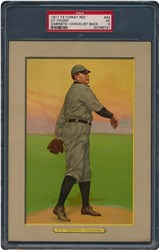 T3 Turkey Red Cabinets Cy Young #42 (Checklist Back)