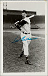 Ted Williams Secretarial Signed Photo