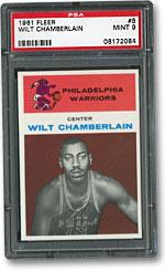 1961 Fleer Wilt Chamberlain