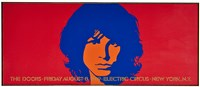 1969 The Doors Electric Circus Poster