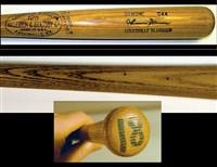 Thurman Munson game bat