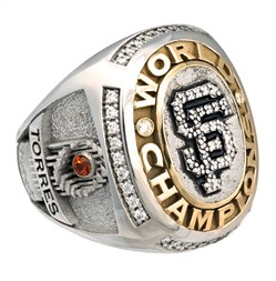 Andres Torres 2010 S.F. Giants World Series Ring
