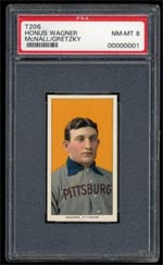 The famed PSA-8 T206 Honus Wager will be on display May 26